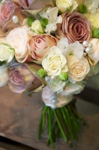 Eny ateliér svatební kytice romantické růže