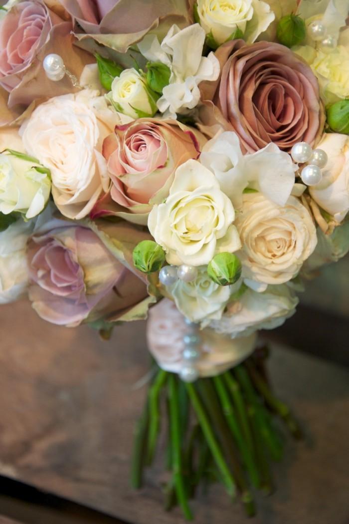 Svatební kytice – řezané květiny