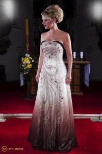 Eny ateliér společenské šaty Anny Gold-Brown