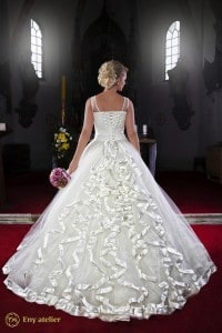 Eny ateliér svatební šaty královna Anna