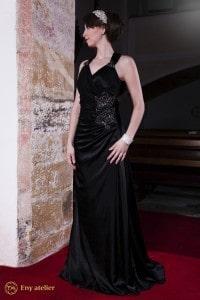 Eny ateliér společenské šaty Betty Black 20. léta