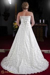 Eny ateliér svatební šaty Královna Monna