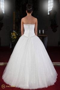 Eny ateliér svatební šaty Ledová princezna Klára