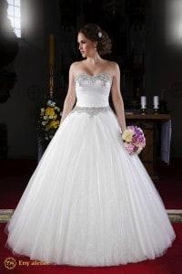 Eny ateliér svatební šaty Ledová princezna Merry
