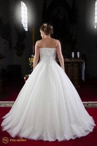 Eny ateliér svatební šaty Královna Merry