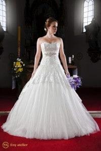Eny ateliér svatební šaty Kněžna Merry