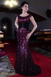 Eny ateliér večerní šaty Pedrina Espanola