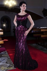 Eny atelier evening dress Pedra Española