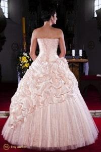Eny ateliér svatební šaty Meruňkový květ Petty
