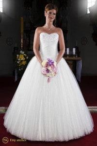 Eny ateliér svatební šaty Princezna Štěpánka