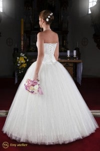 Eny atelier wedding gown Princess Steffi