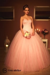 Eny atelier Rosse wedding gown