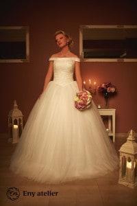 Eny atelier wedding gown Sissi