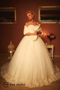 Eny atelier Royal Tavşan wedding gown