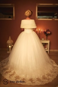 Eny atelier Royal Tavşan wedding gown