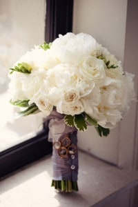 Eny atelier Bridals Bouquets - White Roses