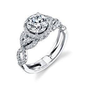 Eny ateliér zásnubní prsten - velmi zodbený, zlatoEny ateliér zásnubní prsten - velmi zodbený, zlato
