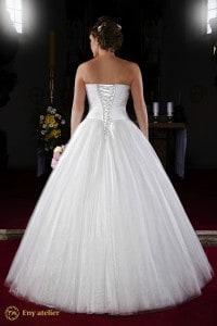 Eny atelier abito da sposa per una principessa invernale
