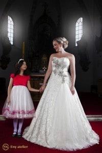 Eny atelier abito da sposa tradizionale