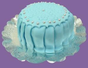 Svatební dort - marcipán
