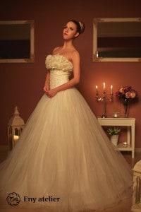 Eny atelier svatební šaty Amálka