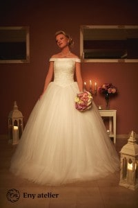 Eny atelier svatební šaty Sissi